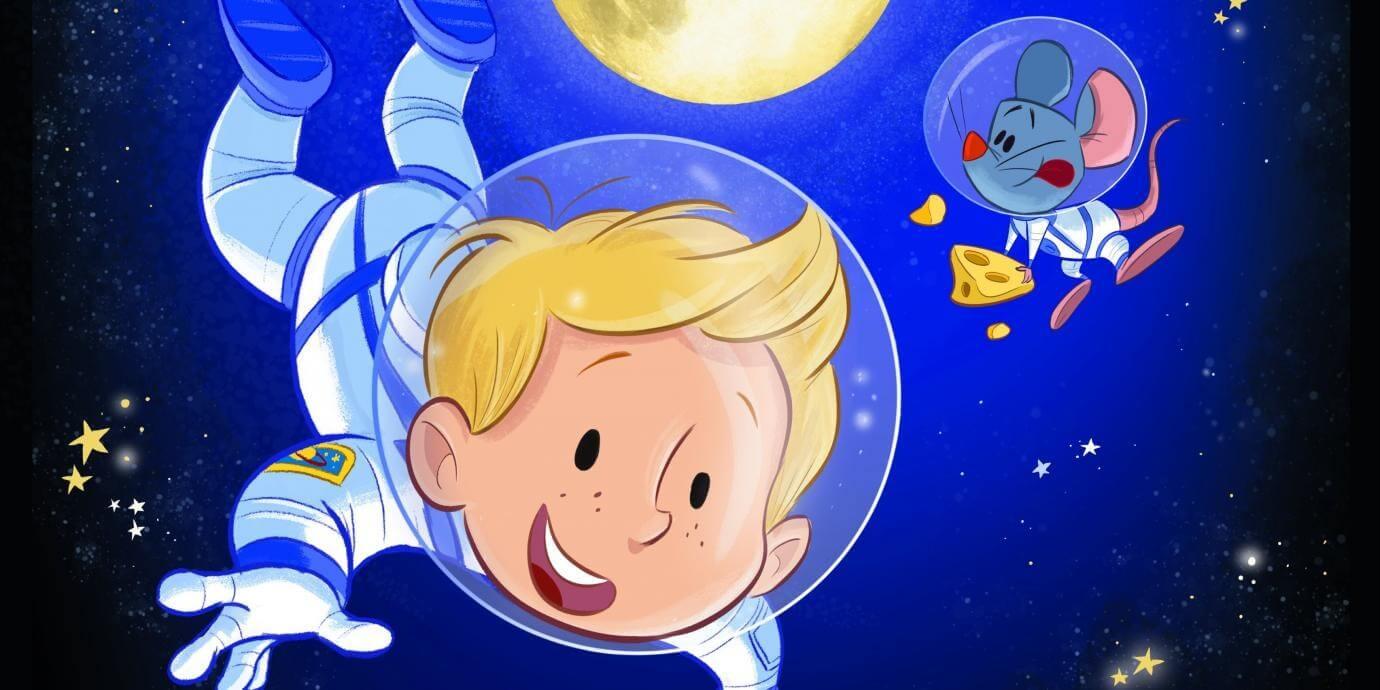 Het Astronautje - Beeld Natascha Stenvert