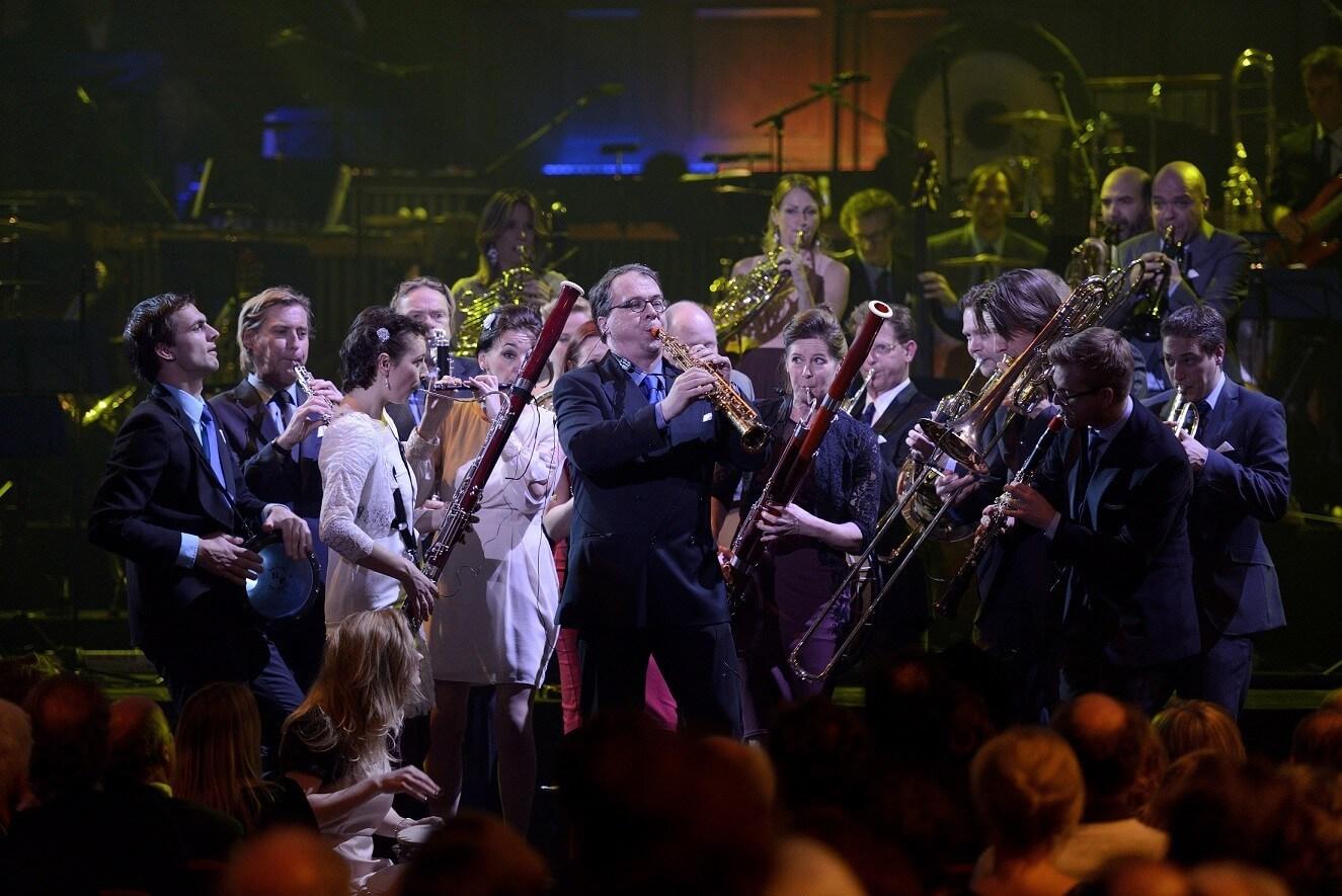 Nederlands Blazers Ensemble - Foto Peter Blok