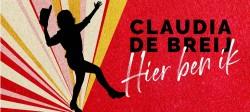 Poster Claudia de Breij Hier Ben ik