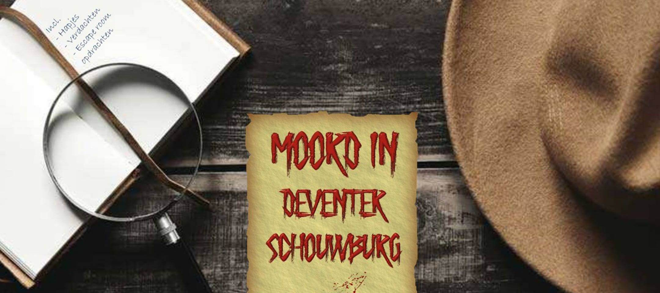 Moorddiner in de Deventer Schouwburg