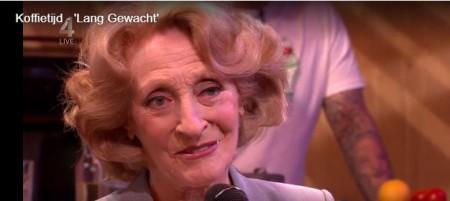 Gerrie van der Klei zingt een brutaal voorproefje uit Diana & Zonen