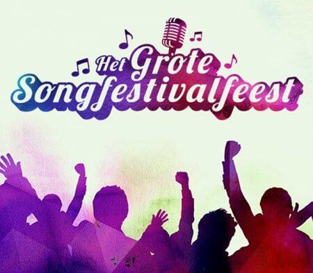 Edsilia Rombley en Cornald Maas presenteren Het Grote Songfestivalfeest