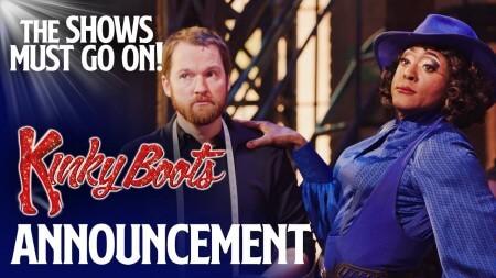 De Nederlandse Kinky Boots gemist? Kijk dan dit weekend West Ends Kinky Boots gratis online!