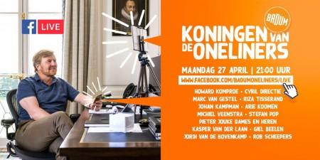 Rake grappen op Koningsdag: 'Koningen van de oneliners'