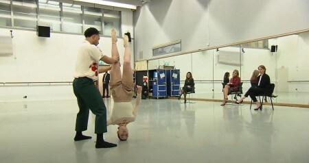 Het Nederlands Dans Theater kreeg hoog bezoek van koningin Máxima