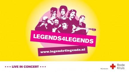 Ga naar het Legends4Legends-concert en steun het Rode Kruis!