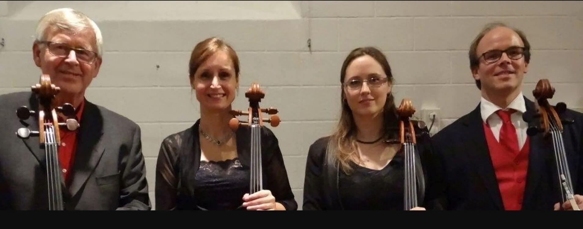 NNO Cellokwartet speelt Bach, Telemann, Pärt en meer!