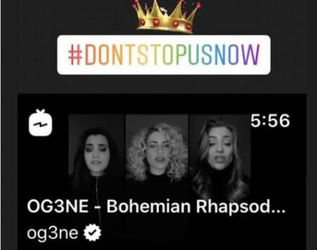 Queen cover van OG3NE opgepikt door ….Queen!