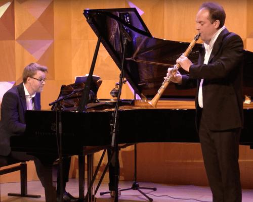 Olivier Patey & Sonate voor klarinet