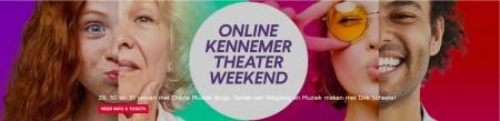 Theatertip: geniet dit weekend van het Online Kennemer Theaterweekend