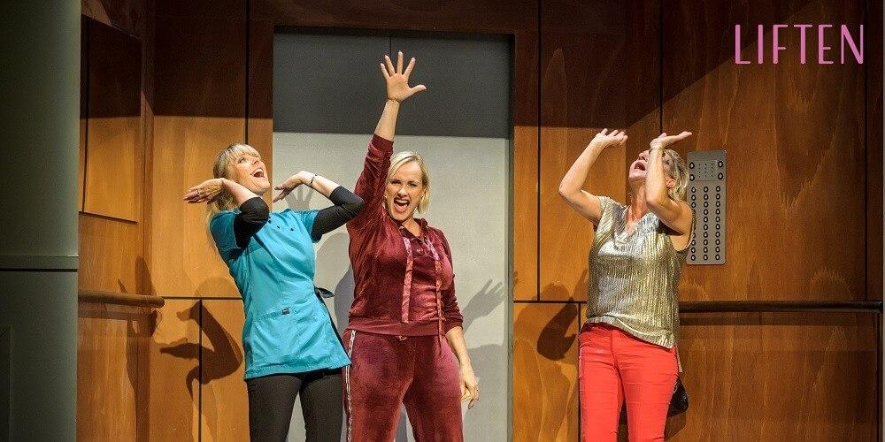 Muzikale komedie Liften weer in het theater