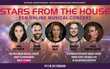 Anouk Maas en Tessa Sunniva van Tol in vierde editie musicalconcert Stars From The House