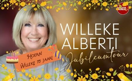 Hoera, Willeke Alberti 75 jaar! En 'vriendje' Mark Rutte belt haar al vroeg uit bed