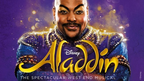 Registratie Aladdin op West End op Disney+