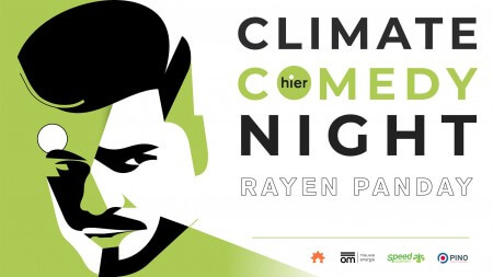 Tip: Climate Comedy Night met Rayen Panday