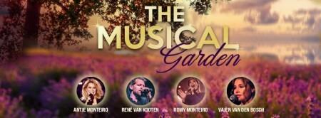 Antje Monteiro geeft tuinconcert met musicalsterren
