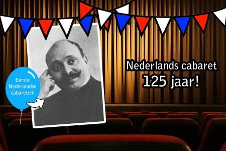 Hoera! 125 jaar Nederlands cabaret!