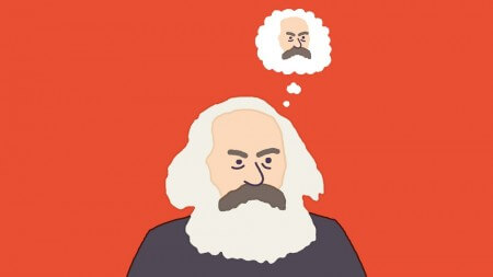 Theater aan huis: Marx met Frank Lammers