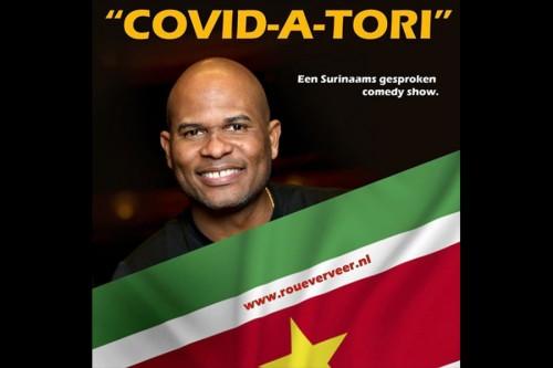 Roué Verveer geeft Surinaams gesproken comedyshows