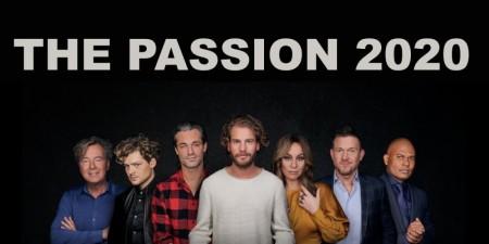 Tim Akkerman, Soy Kroon en Roué Verveer in The Passion 2020