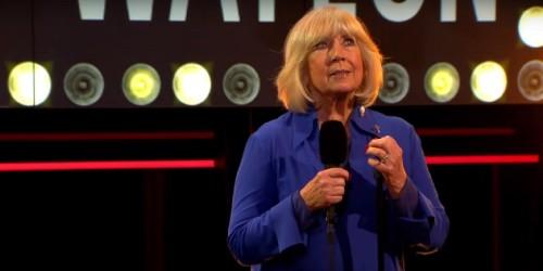 Prachtig optreden Willeke Alberti in DWDD bruut verstoord