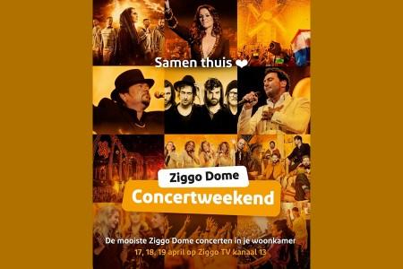 Ziggo zendt unieke concerten uit op tv